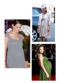 Look de boda para embarazadas