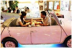 classic mini Car Table, Opening A Bakery, Cool Restaurant, Restaurant Ideas, Unique Restaurants, Car Themes, Taipei Taiwan, How To Eat Better, How To Attract Customers
