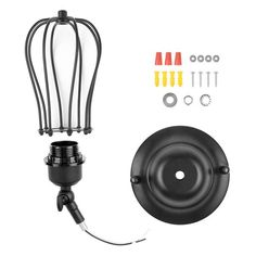 Add a touch of industrial vintage to your home with this classic droplet cage wall lamp! Made from iron and alloy. Power Source: AC Suitable for Voltage: Installation: Wall Mounted Light bulbs not included. Free Worldwide Shipping & Money-Back Guarantee Wall Mount, Light, Wall Lamp, Vintage Lighting, Lamp, Wall Mounted Sconce, Ac Installation, Vintage Industrial, Wall