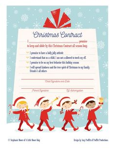 A cute christmas elf warning letter andor a personalized letter elf on the shelf ideas for arrival 10 free printables letter from santablogchristmas spiritdancerdesigns Image collections
