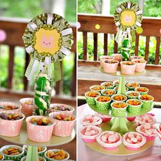 This party has some cute presentation ideas for kid food