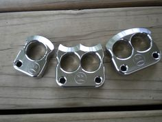 Afrankart knucks-These can be fairly pricey-the more rare and hard to find of Afrankart knucks. Some can go for about $500.00 for the singles.