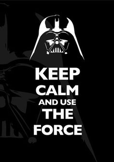 I don't always repin keep calms, but when I do...they are star wars related.