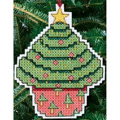 Cross Stitch Craze: Cross Stitch Christmas Cupcakes