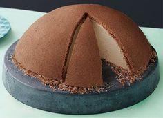 Schoko-Kuppeltorte | Weight Watchers, 16 Portionen, 9 SmartPoints/Portion, Weight Watchers, Kuchen, Torte