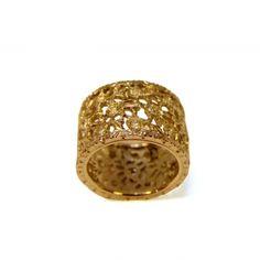 Anello stile antico diamanti ORO 750°/°° bianco.    Karati 1,25 diamanti.    Misura 14.    Peso: gr. 12    Pezzo unico    Colore: Diamanti    Creazione e Produzione interamente Made in Italy Autentico.