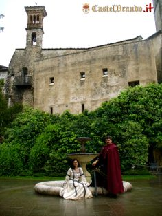 #unconventional #wedding at #CastelBrando! #Medieval style! http://bit.ly/1f9JI2k