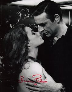 JAMES BOND GIRL LUCIANA PALUZZI AUTOGRAPHED PHOTO James Bond Books, James Bond Movies, Luciana Paluzzi, James Bond Women, Bond Series, Bond Girls, Sean Connery, Vintage Glamour, Film