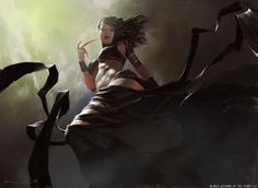 Concept Art by Igor Kieryluk. Igor is a professional illustrator and concept artist currently located in Poland. Igor has created fantasy art for clients Fantasy Women, Dark Fantasy Art, Dark Art, Lady Fantasy, Fantasy Heroes, Mtg Vampire, Vampire Art, Female Vampire, Gothic Vampire