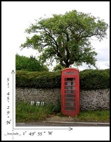 Red phone booth in Cotswold, England  #England #Cotswolds #RedPhoneBooth #UK #travel #photography