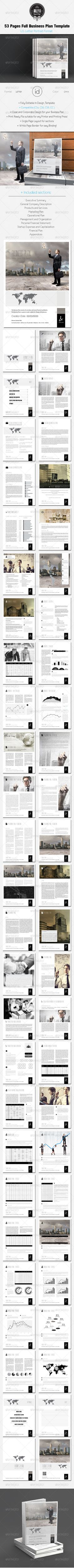 Dark Full CV Bifold Template Templates Pinterest Dark And - Full business plan template