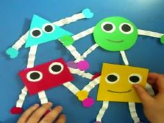 Mix And Match Shapes - Kids Animation Learn Series: Clip 2:28 min. Find the shapes to create an image. A fun interactive ways to learn basic shapes.