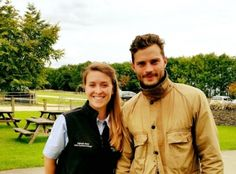 Jamie at Cotswold Farm Park on Sunday