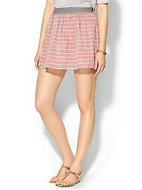 THML Clothing Soft Striped Skirt
