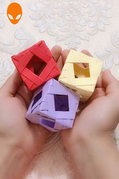 10 simple and interesting origami ideas - DIY tutorials V .- 10 simple and interesting origami ideas DIY tutorials videos Part 6 Diy Origami, Origami Wallet, Origami And Kirigami, Useful Origami, Paper Crafts Origami, Easy Paper Crafts, Diy Arts And Crafts, Diy Paper, Fun Crafts