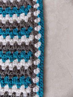 Randje / border granny stripe blanket