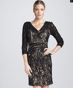Sue wong nocturne black dress