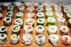 "fuckyeahjapanandkorea: "" Sushi shop party by kenzo Takada 11 by the cherry blossom girl """