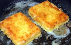 Saganaki - gebakken feta - Another! Good Food, Yummy Food, Greek Dishes, Healthy Slow Cooker, Cooking Recipes, Healthy Recipes, 30 Minute Meals, National Dish, Greek Recipes