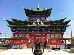 Ivolginsky Datsan - Etigel Khambin Temple at Ulan-Ude, Siberia, Russia