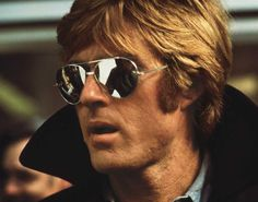 The coolest photo ever of Robert Redford.