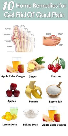 10 DIY Home Remedies for Gout Pain