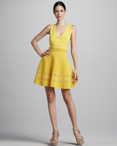 Flouncy Knit Dress by M Missoni at Neiman Marcus.