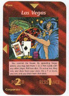 Illuminati Card Game -Las Vegas