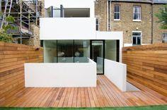 Beautiful Western Red Cedar deck by William Tozer Architecture & Design