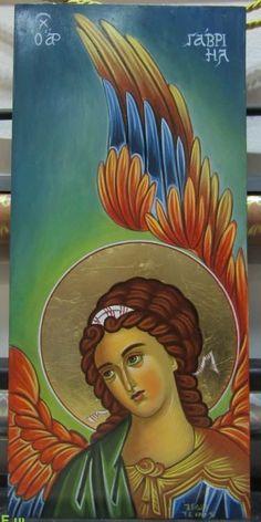 Byzantine Icons, Christian Faith, Ikon, Greece, Mona Lisa, Paintings, Artwork, Pictures, Angel