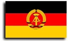 East Germany - 3' x 5' Polyester Foreign Historical Flag by Flagline. $5.04. 3x5' Polyester Flag. Canvas Header with Two Brass Grommets. These historic flags are created with exacting detail and screen-printed onto 100% polyester.. Save 70% Off!