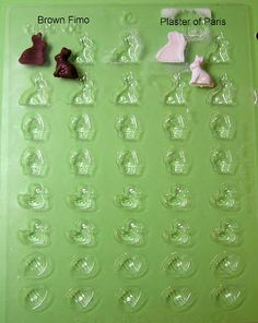 Link for where to buy mold.....2.00...DYI DOLLHOUSE MINIATURES: March 2013