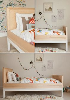 cutte garland with toddler bed the boo and the boy: boys' rooms
