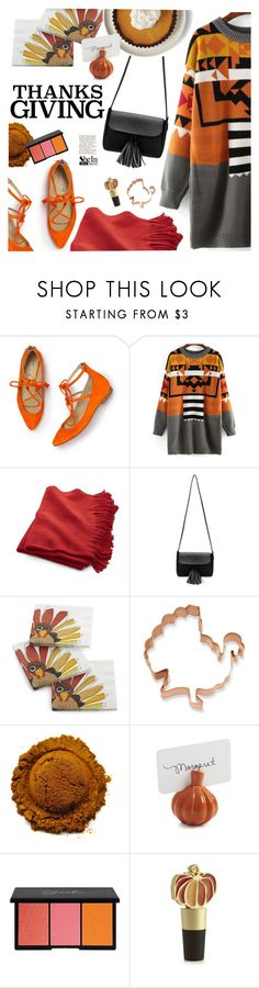 """Home for Thanksgiving"" by ansev ❤ liked on Polyvore featuring Boden, Crate and Barrel, Williams-Sonoma and thanksgiving"