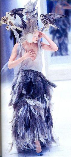 Пернатая мода: прекрасные наряды с изображениями птиц - Ярмарка Мастеров - ручная работа, handmade