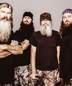 Phil, Jase, Si, and Willie