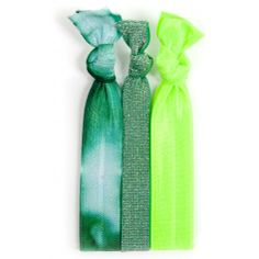 The Twistband Shenannigans hair tie set! The little bit of green you need to get through St. Patty's Day.