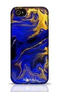 Golden Waves Marble Texture Apple iPhone 5c Phone Case