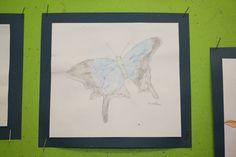 Butterflies Felt Pen & Watercolour Year 4
