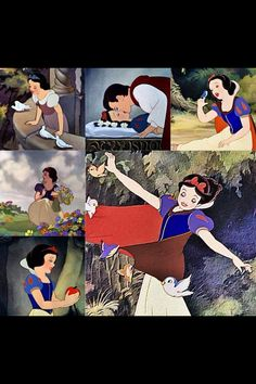 Snow White and the prince (does anybody know his name?!)  ☺