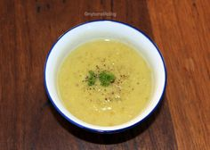 Pea Soup - one of my favourite soup recipes. It also makes a fabulous starter.