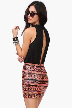 Shimmy Party Dress in Black, this would be a great outfit to wear:)) #shoppricelesscontest