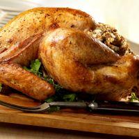Roast Turkey with Mushroom Stuffing
