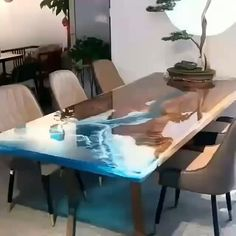 Small Woodworking Projects, Popular Woodworking, Woodworking Furniture, Furniture Plans, Woodworking Shop, Woodworking Plans, Wood Projects, Diy Resin Table, Epoxy Wood Table