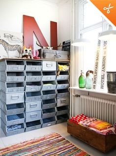 Industrial Inspiration for Kids Rooms