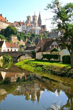 Semur-en-Auxois by Charles Louis    Semur-en-Auxois, Burgundy, France