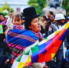 Las mujeres campesinas de Bolivia y toda su fuerza! By Satori Gigie