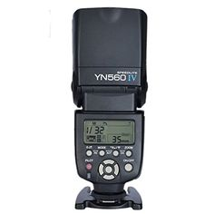 New Yongnuo YN-560 IV Flash Speedlite for Canon Nikon Pentax Olympus DSLR Cameras