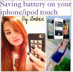 """Saving Battery on your iphone or ipod touch"" by the-amazing-tip-chickas on Polyvore"