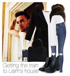 """Getting the train to Liam's house"" by style-with-one-direction ❤ liked on Polyvore featuring Topshop, Payne, MaxMara, Victoria Beckham, Kate Spade, OneDirection, LiamPayne, 1d and liam payne one direction 1d"